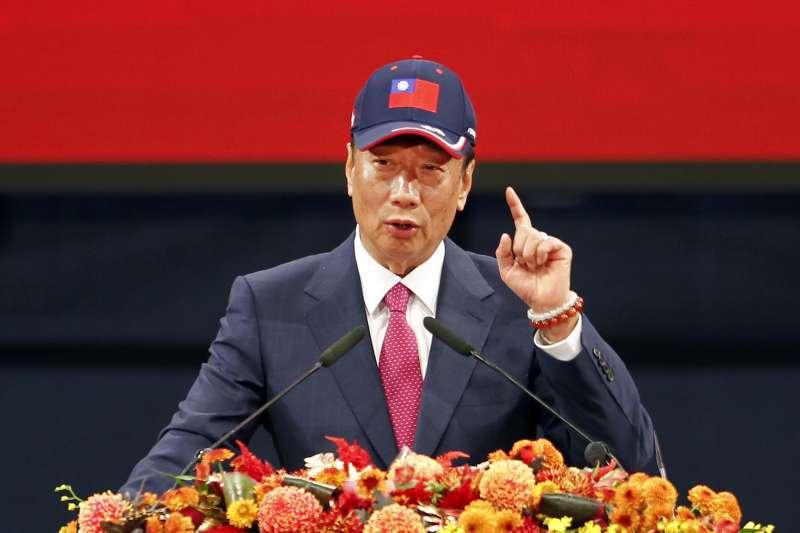 鴻海董事長郭台銘一早在臉書發文,痛批微軟此時對身為代工廠的鴻海提起訴訟,根本是意在華為(AP)