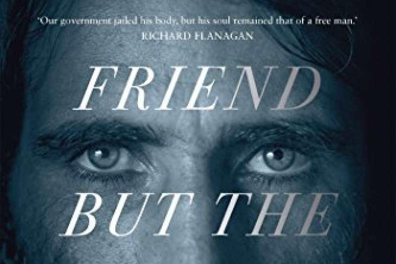 伊朗庫德族記者布切尼用WhatsApp寫下《沒有朋友,只有山》。(取自amazon.com)