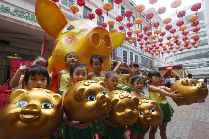 歡慶農曆新年,菲律賓人愛說Kong Hei Fat Choy(AP)