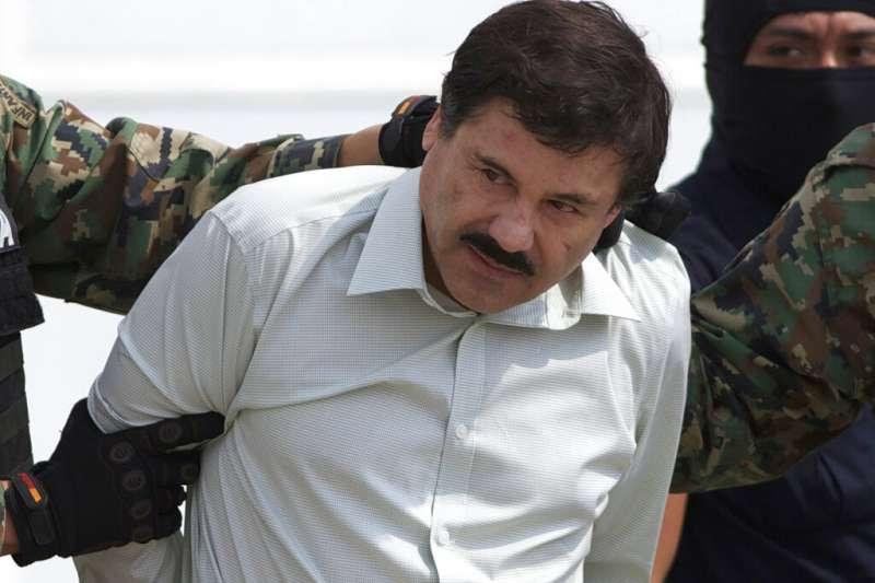 墨西哥頭號毒梟「矮子」古茲曼。(AP)