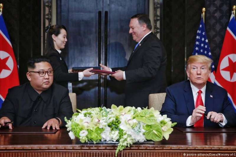 美國國務院表示,美國北韓特使將於周三在平壤與北韓方代表會面,針對即將登場的川金會進行協商。(德國之聲)