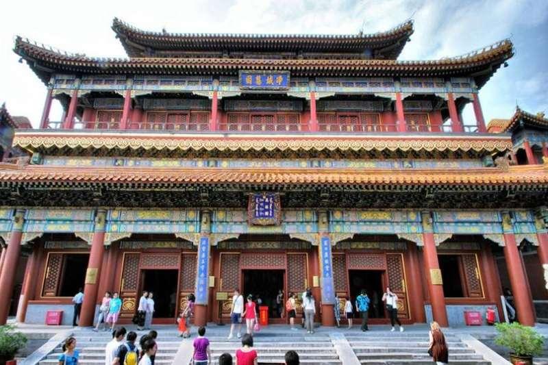 北京雍和宮。(取自百度)