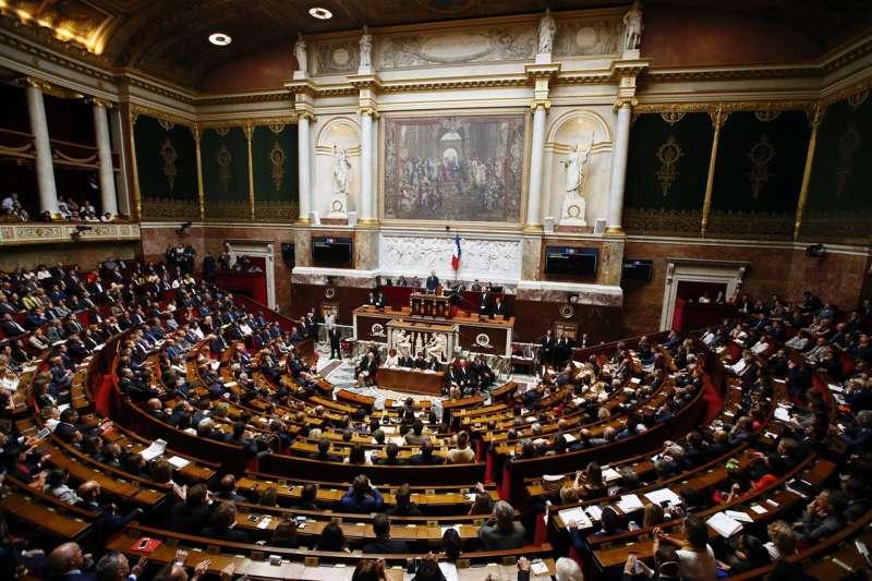 法國國會下議院「國民議會」(AP)