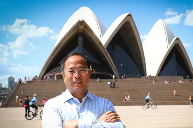 澳大利亞不僅拒發中國富商黃向墨公民身分,還取消永久居留權(翻攝網路)