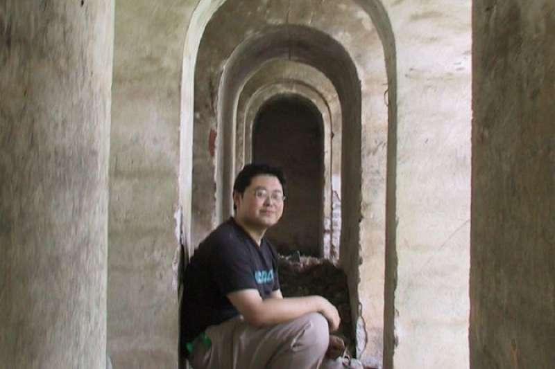 被控顛覆國家的牧師王怡。(資料照,取自廖亦武臉書)