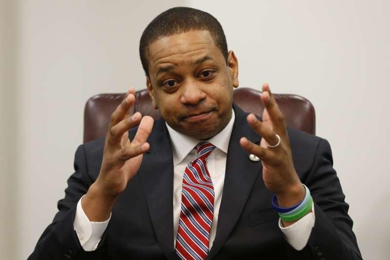 美國維吉尼亞州副州長費爾法克斯(Justin Fairfax)(AP)