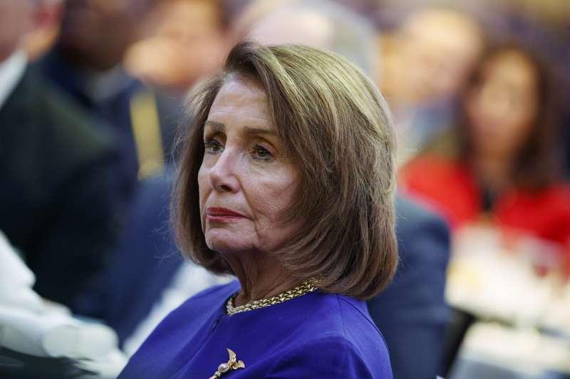 美國聯邦眾議院議長裴洛西(Nancy Pelosi)(AP)