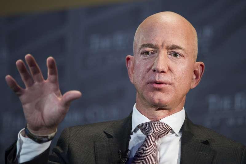 美國電商龍頭亞馬遜創辦人貝佐斯(Jeff Bezos)(AP)