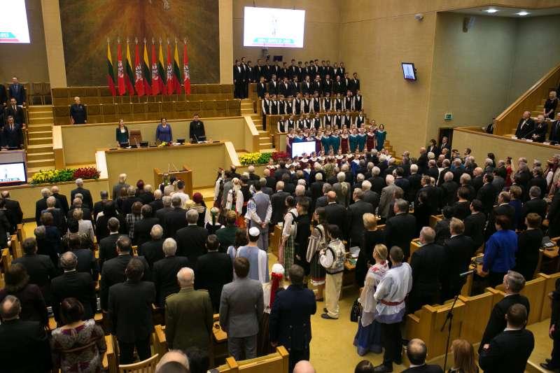 立陶宛國會(Saeima@Wikipedia / CC BY-SA 2.0)