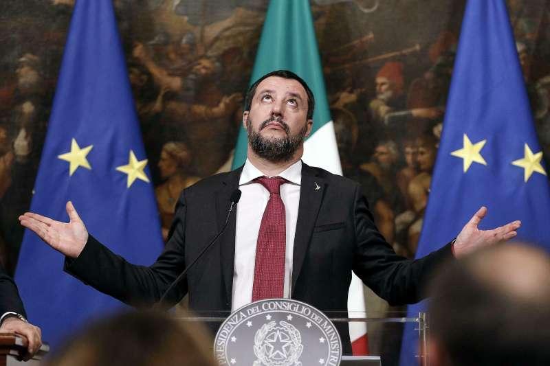 義大利副總理兼內政部長薩爾維尼(AP)