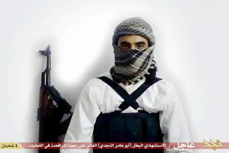 沙烏地阿拉伯的伊斯蘭國戰士與自殺炸彈客(AP)