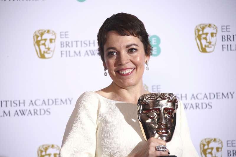 第72屆英國影藝學院獎(BAFTA):奧莉薇亞柯爾曼以《真寵》贏得最佳女主角(AP)