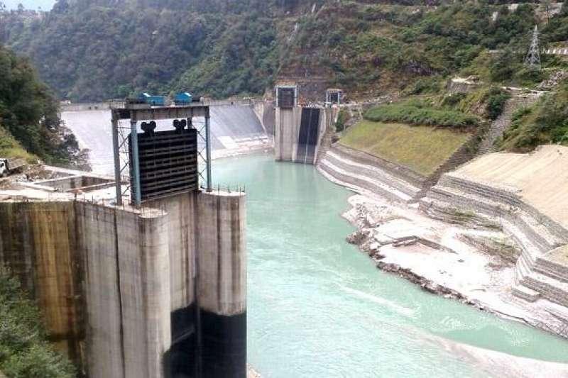 錫金邦境內 Teeta 1,200MW 的印度第二大水力電廠。(圖取自Kanglaonline.com)
