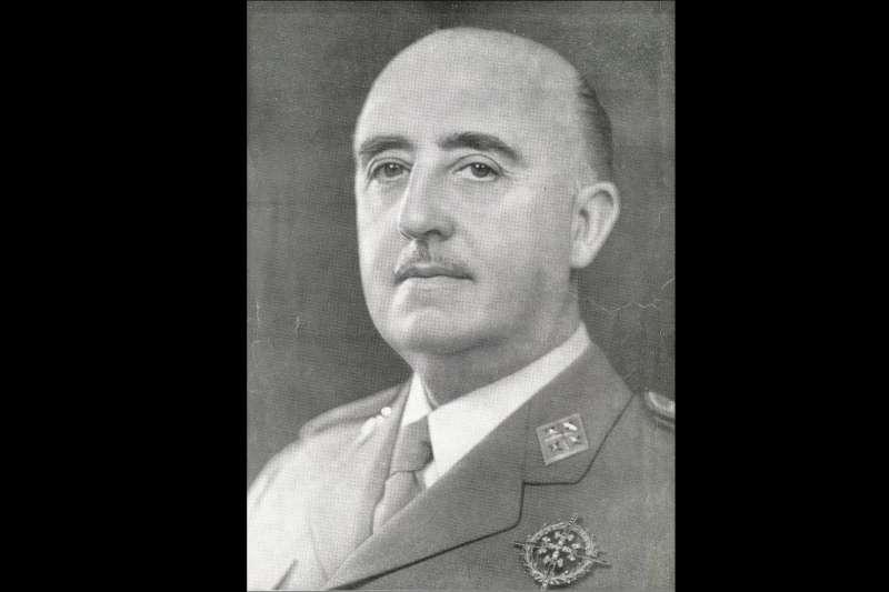 西班牙獨裁者佛朗哥。(維基百科/CC0)