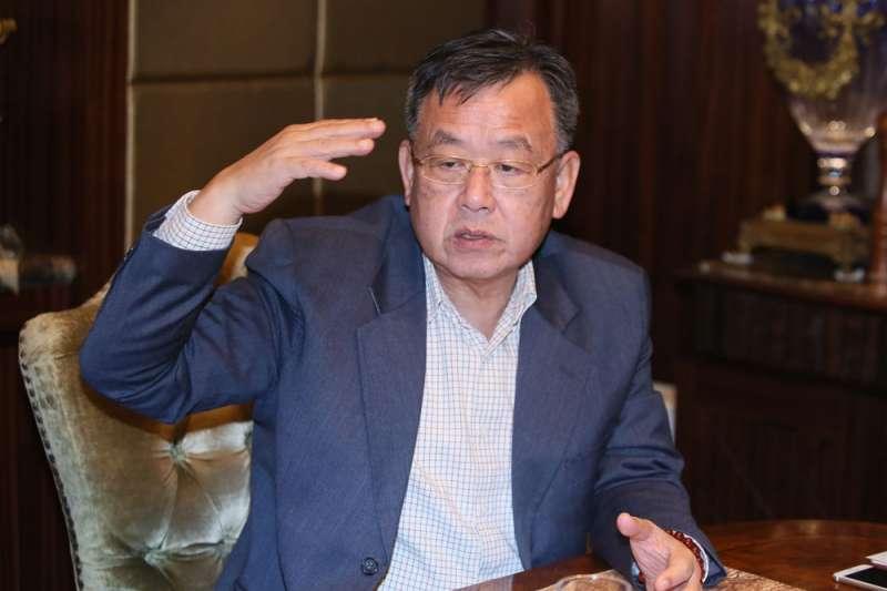 短暫4年的民進黨綠地翻盤,時隔13年,賴峰偉讓澎湖重回國民黨藍天的懷抱。(柯承惠攝)