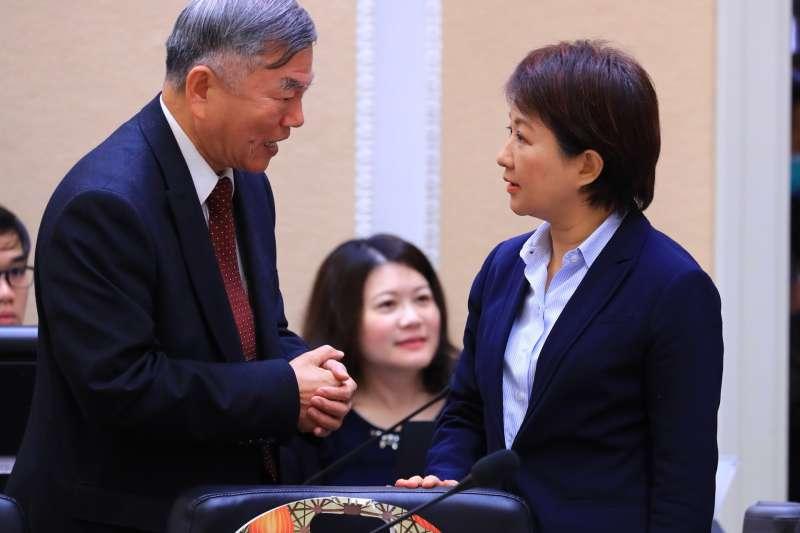 20190214-台中市長盧秀燕14日出席行政院會。(台中市政府提供)