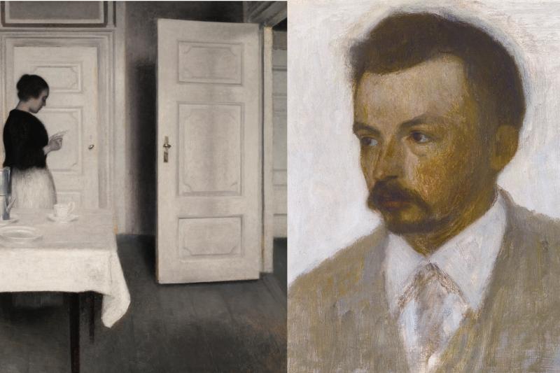 正因為赫默塞獨樹一格,甚至於是不合時宜的個人特色,所以藝術家生前並沒有太多人關注過他。(圖/維基百科 風傳媒合成)