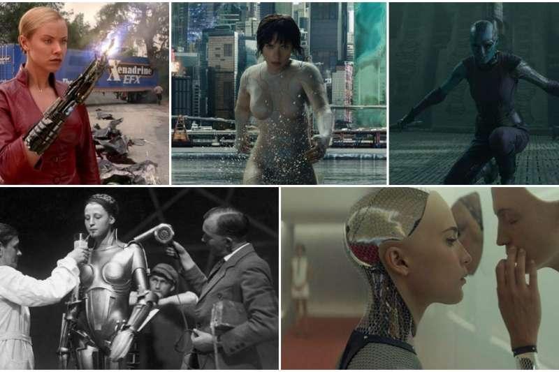 《艾莉塔:戰鬥天使》榮獲春節票房冠軍!看完還意猶未盡的人,不妨也把影史上這 5 部女機器人電影都找來看看。(圖/智慧機器人網)