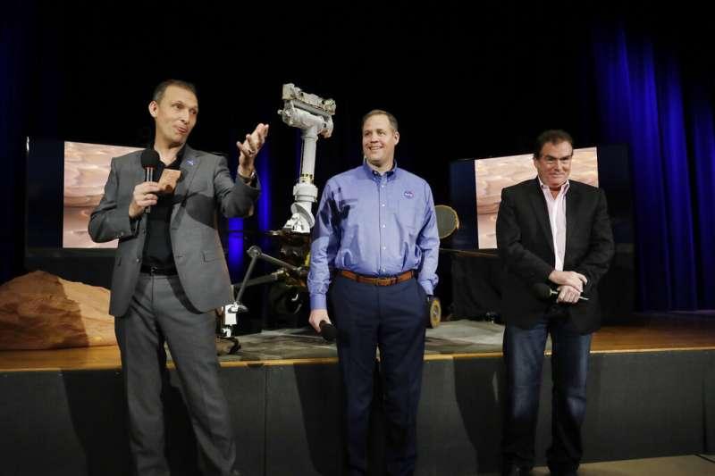 NASA宣布火星探測漫遊車「機會號」任務終了。(AP)