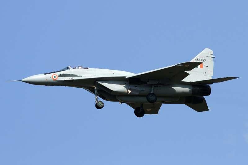 印度空軍的MiG-29。(aztonyx@Wikipedia/CC BY 2.0)