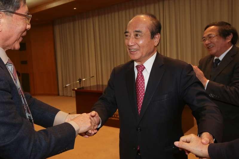 20190216-前立法院長王金平16日出席南一中校友總會演說。(顏麟宇攝)