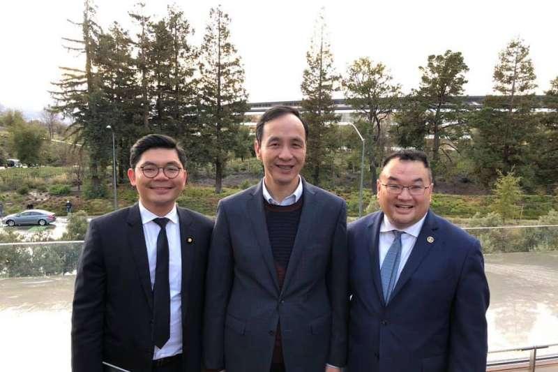 20190216-參訪Apple Park,朱立倫成為台灣首位受邀政治人物。(取自朱立倫臉書)