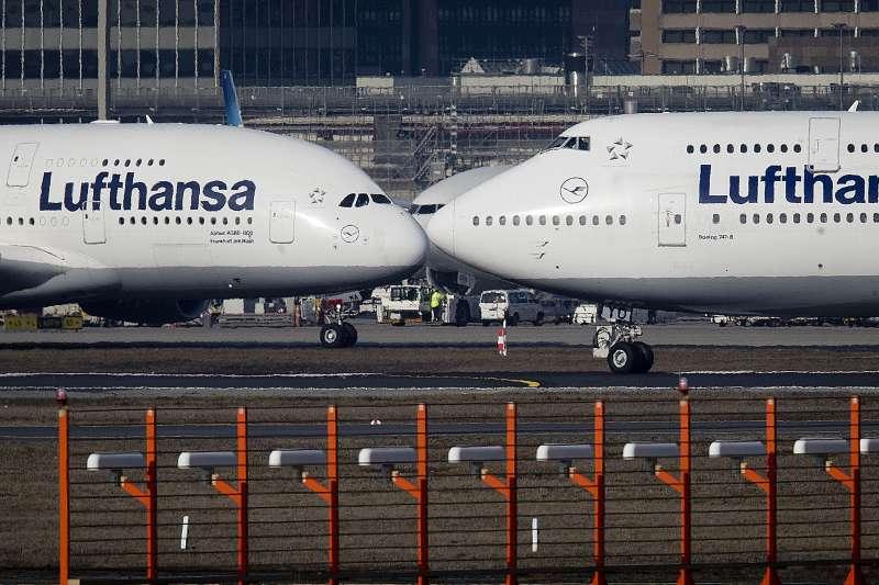 空中巴士(Airbus)A380巨無霸客機(AP)