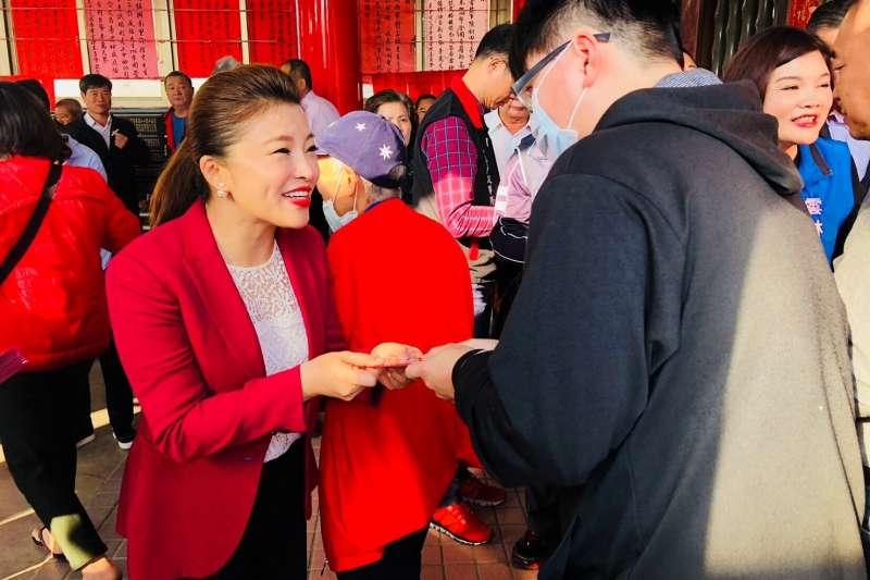 是否回鍋參選雲林海線立委,前國民黨立委張嘉郡表示正在評估中。(取自張嘉郡臉書)