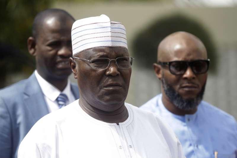 2019年2月奈及利亞總統選舉,反對黨候選人阿布巴卡爾(Atiku Abubakar)(AP)