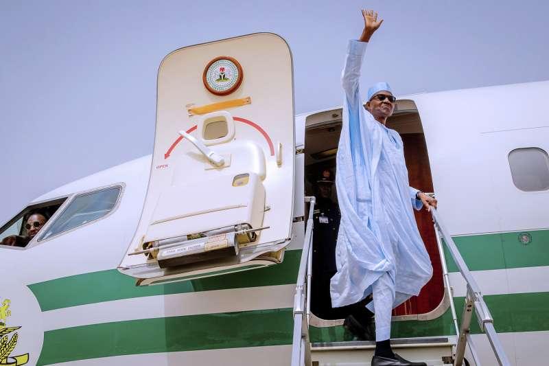 2019年2月奈及利亞總統選舉,現任總統布哈里(Muhammadu Buhari)(AP)
