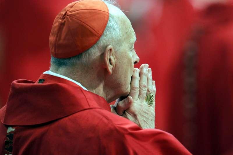 2019年2月16日,前樞機主教麥卡瑞克因涉及性侵未成年孩童,遭教廷褫奪神職處分。(AP)