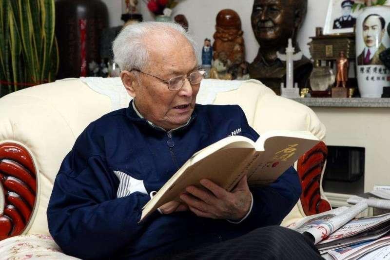 毛澤東前秘書、中國自由派元老李銳。