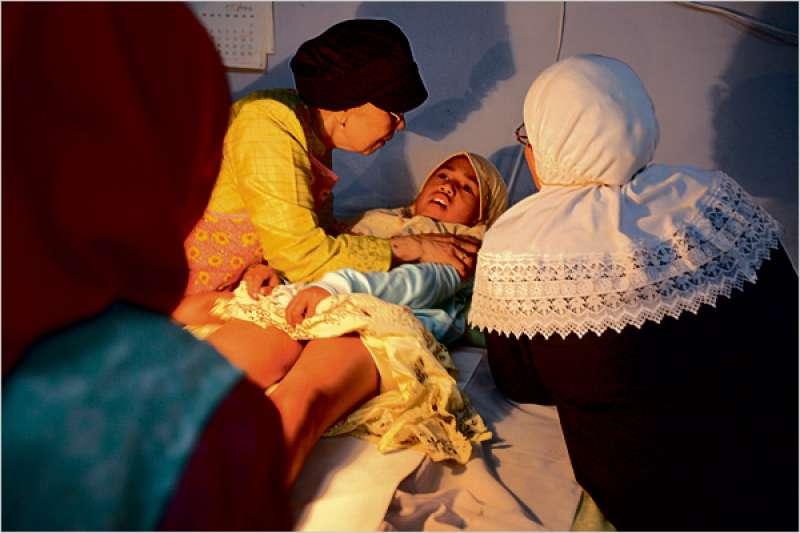 在全球有2億的女性進行過「割禮」,這項行為已經被聯合國大會認定「違反人權」。(圖/維基百科)