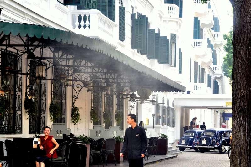 越南河內傳奇新都城索菲特酒店(Sofitel Legend Metropole Hanoi)(Eustaquio Santimano@Wikipedia / CC BY 2.0)