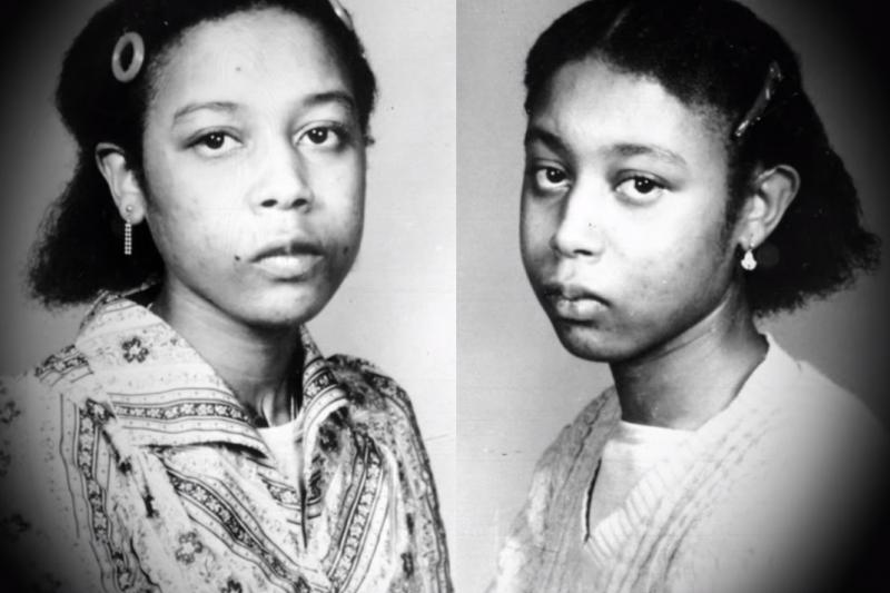 朱恩和詹妮弗·吉本斯雙胞胎姊妹用旁人無法聽懂的語言溝通,兩人的成長之路都不被社會理解、更在精神病院度過了11年。直到雙胞胎中一人離奇死去,另一人卻脫口說出:「我終於自由了,解放了!」背後究竟有什麼不為人知的原因?(圖/取自youtube)