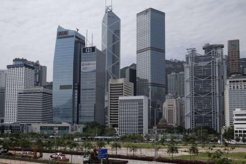 香港中環商業區(AP)