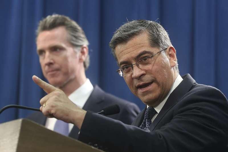 為蓋牆宣布國家緊急狀態:加州檢察長貝西拉代表16州控告川普違憲(AP)