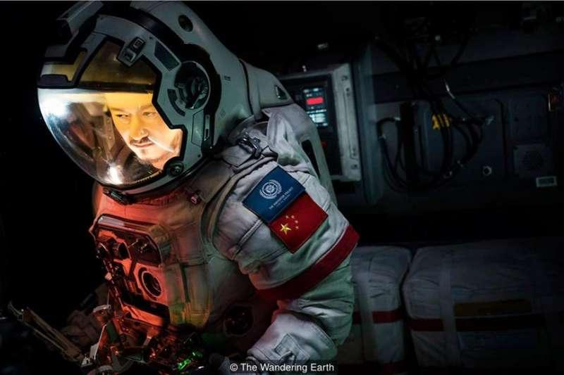 電影《流浪地球》劇照。(BBC中文網)