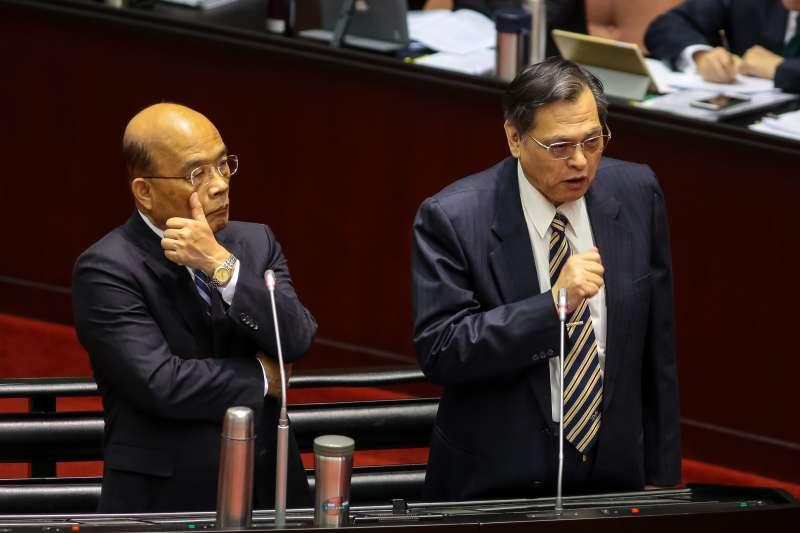 高官退將赴中政治活動擬管制15年 蘇貞昌:應該終身限制-風傳媒