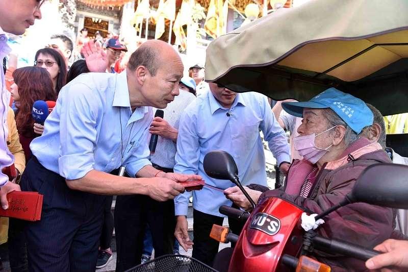 民進黨卡韓不遺餘力,這份號稱「對台灣的愛」,實在叫台灣承受不起。(圖片來源:高雄市政府)