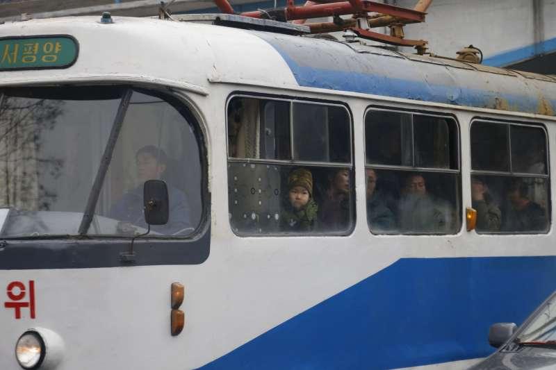 北韓電車(AP)