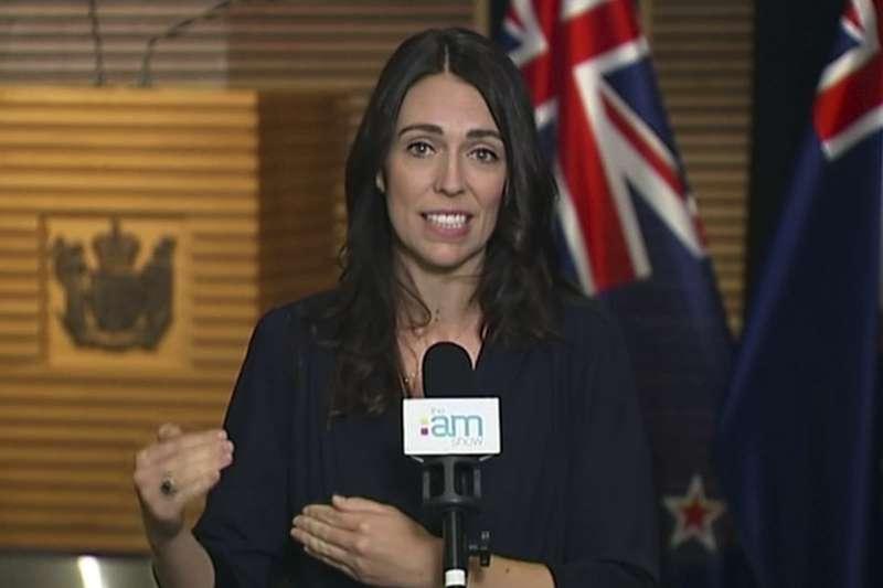紐西蘭總理雅頓(AP)