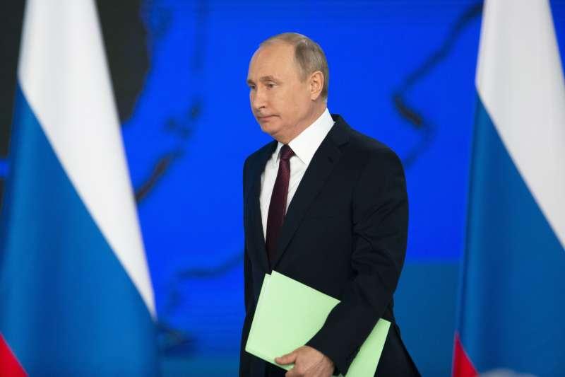 俄羅斯總統普京發表國情咨文,警告美國勿在歐洲部署飛彈(AP)
