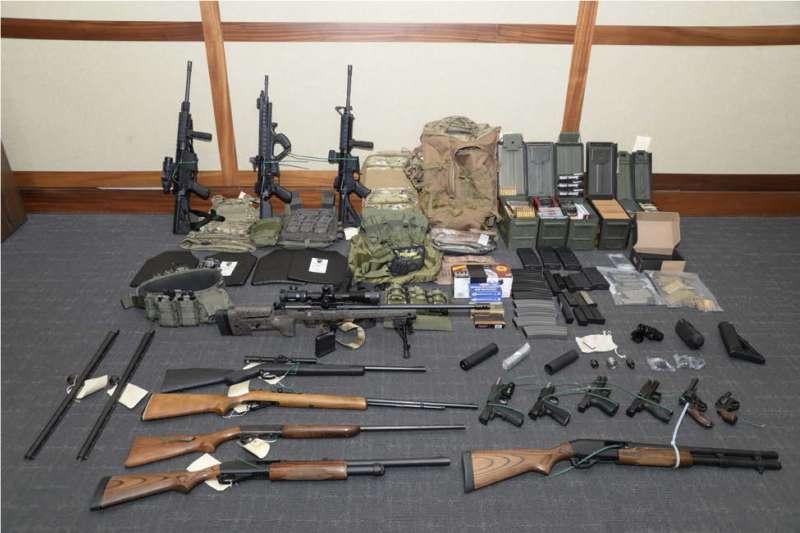 美國海岸防衛隊上尉哈森屯積大量槍械彈藥,準備發動恐怖攻擊(AP)