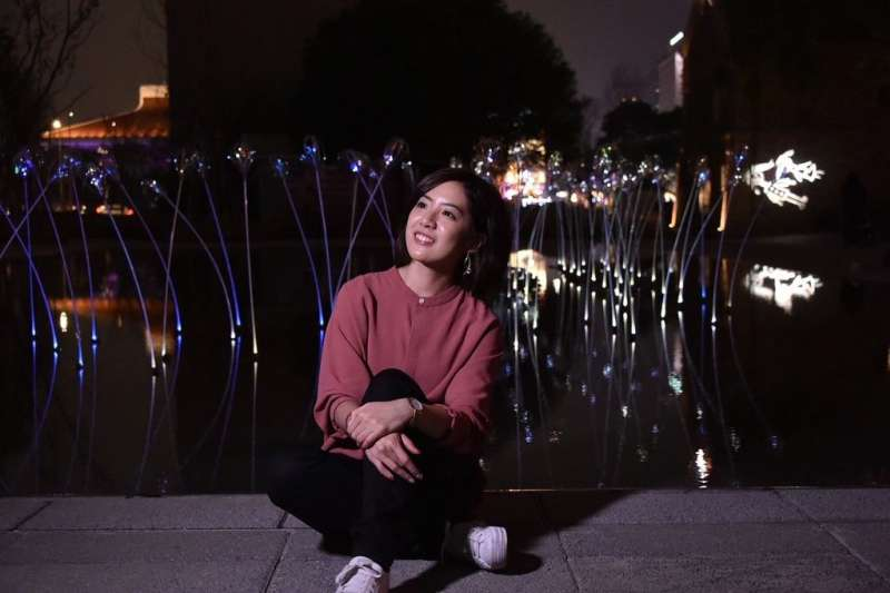 「學姊」黃瀞瑩一句統獨是假議題,引發爭議。(取自台北市政府網站)