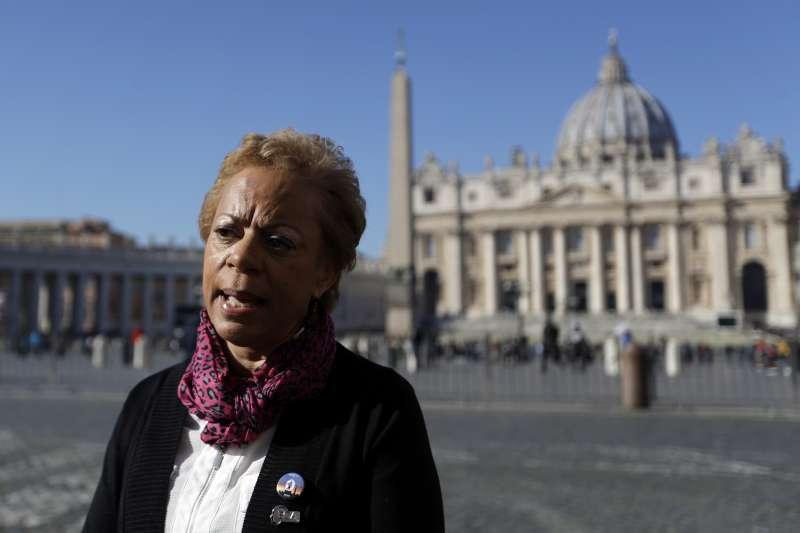 天主教會教士性侵醜聞,受害者代表布坎南(Denise Buchanan)(AP)