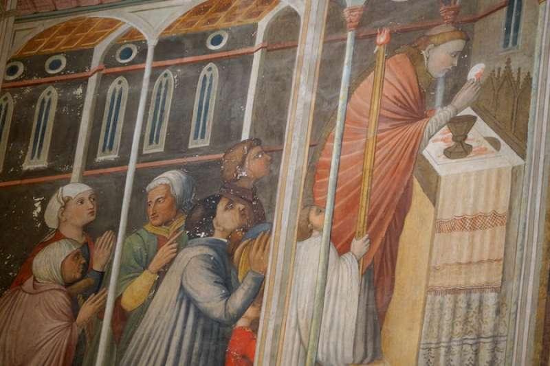 波額塞納鎮的聖體聖事奇蹟。(曾廣儀攝)