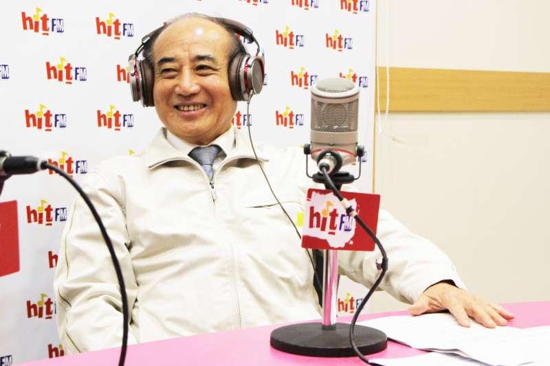 前立法院長王金平表示,他對同婚的立場,一直以來都是中性。(Hit Fm《周玉蔻嗆新聞》製作單位提供)