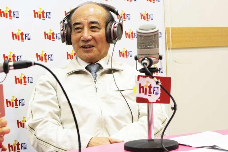 20190221-王金平21日接受電台專訪,他表示已擇定黃道吉日,在近期對外宣布參選總統。(Hit Fm《周玉蔻嗆新聞》製作單位提供)