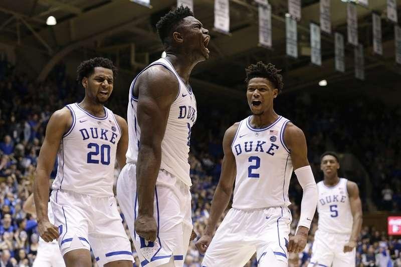 杜克大學超級新人威廉森幾乎完全主宰大學籃壇,來到NBA是否能夠維持這樣高檔的表現值得球迷關注。 (美聯社)
